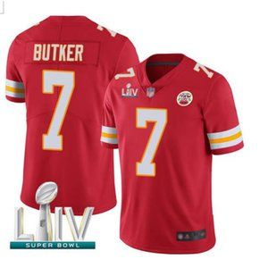 Men's Kansas City Chiefs #7 Harrison Butker Jersey